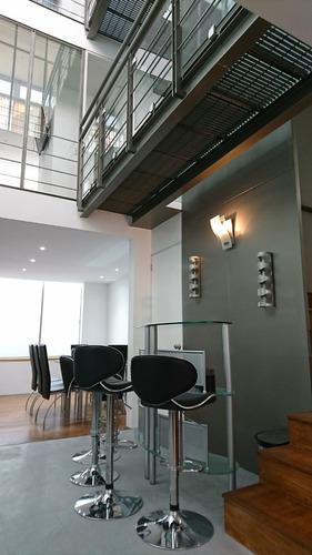 precioso amueblado y equipado 3 niveles con terraza