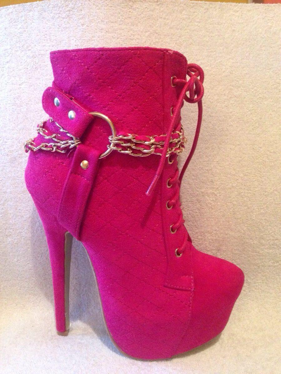 65e1647d8d4 Precioso Botin Pink Plataforma Stilleto -   25.000 en Mercado Libre