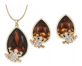 9ad0b6888984 Aretes Oro Amarillo Piedras Preciosas - Collares y Cadenas en ...