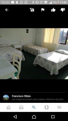 precioso hotel en renta o venta con 21 habitaciones amuebladas en apizaco !!