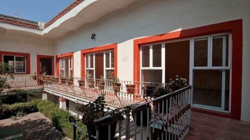 precioso inmueble de estilo colonial en el centro de azcapotzalco