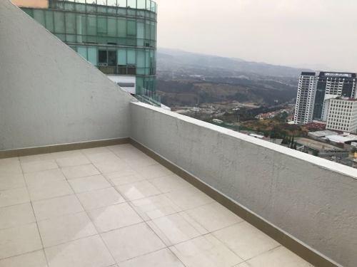 precioso  penthouse con vista panoramica en interlomas