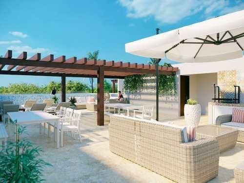 precioso penthouse en playa del carmen