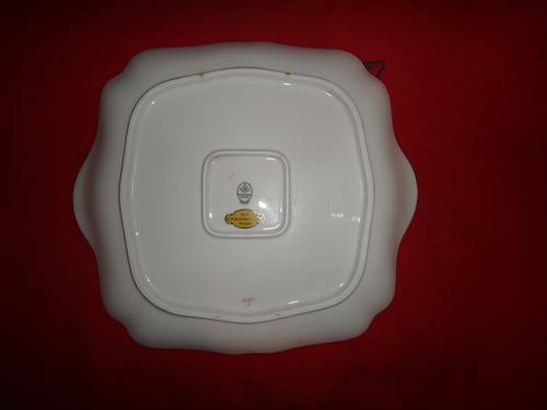 precioso plato porcelana alemana
