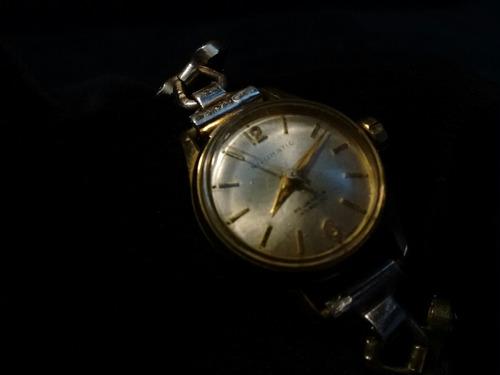 precioso reloj silomatic suizo muy raro 25 joyas vintaje