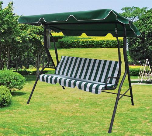 Precioso sill n hamaca para jard n con toldo en ca o y for Amazon hamacas jardin