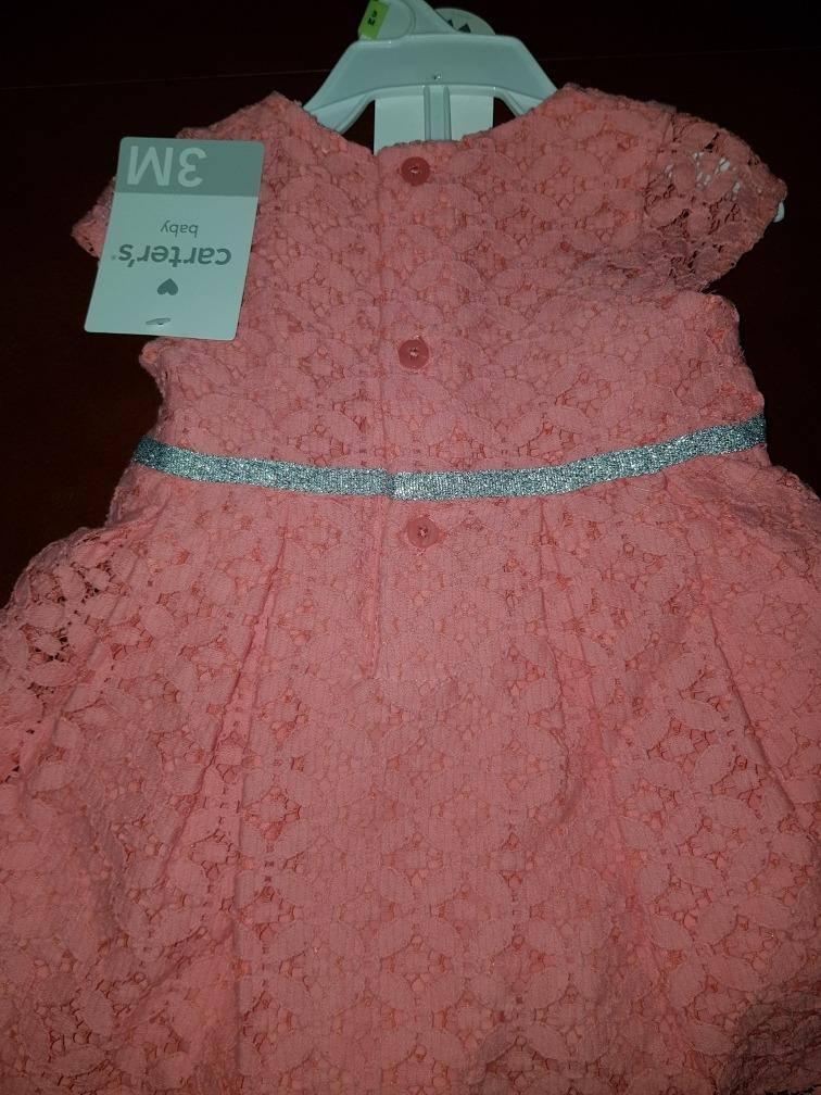 5fcd79724 precioso vestido carters 18 y 3 meses niña nuevo original. Cargando zoom.