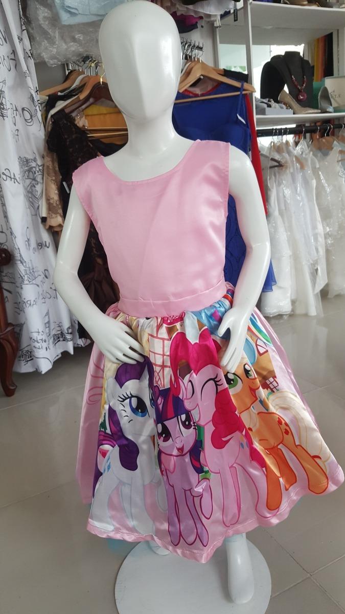 Precioso Vestido De Fiesta My Little Pony - $ 100.000 en Mercado Libre