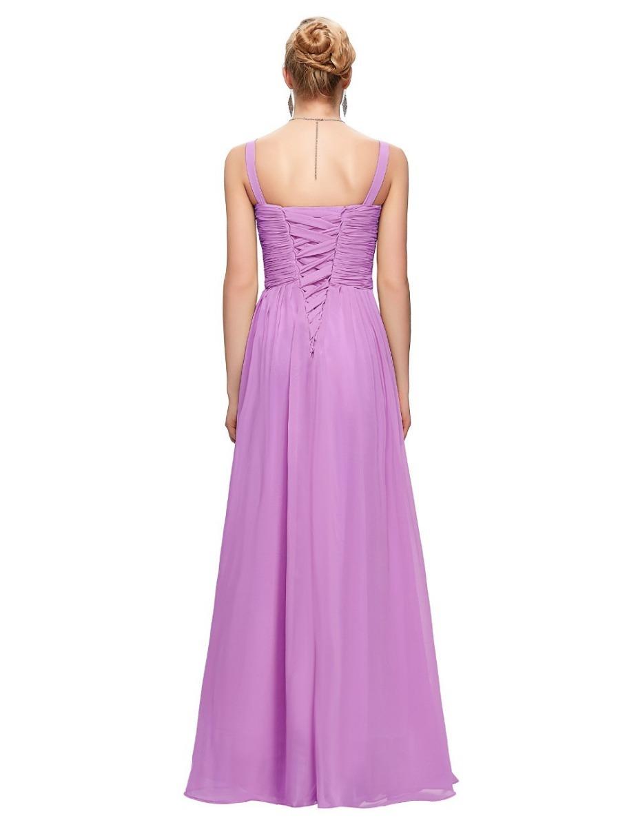 Asombroso Vestido De Fiesta Lavanda Inspiración - Colección del ...