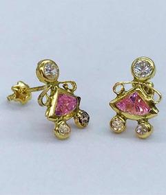 5a702496f9c7 Aretes Oro Piedras Preciosas Variedad De Modelos Diseñadores en ...