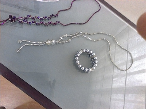 preciosos  collares de  cristal de sharoski  nuevos