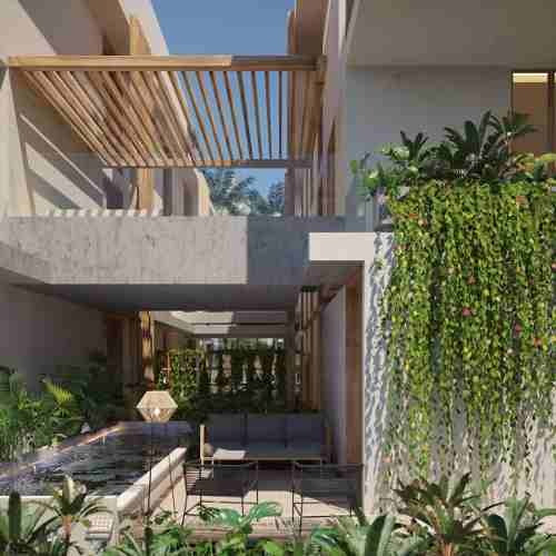 preciosos condominios en tulum en aldea zama, rivera maya