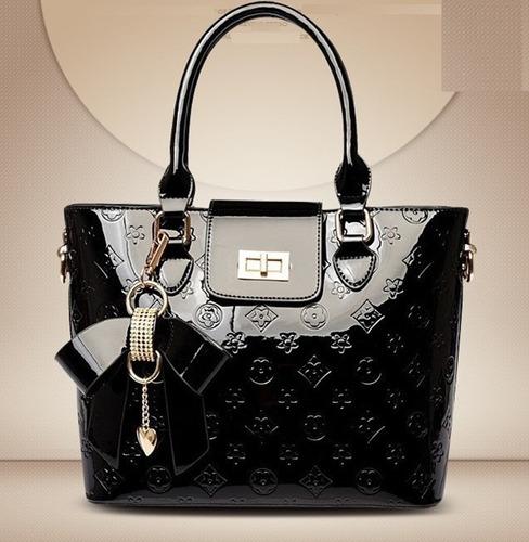 preciosos y elegantes  bolsos para dama en charol