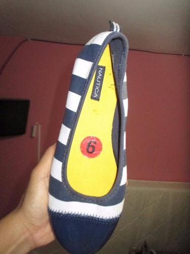 preciosos zapatos para dama tipo espargatas marca nautica}