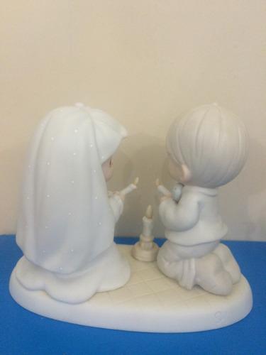 precious moments, matrimonio, porcelana