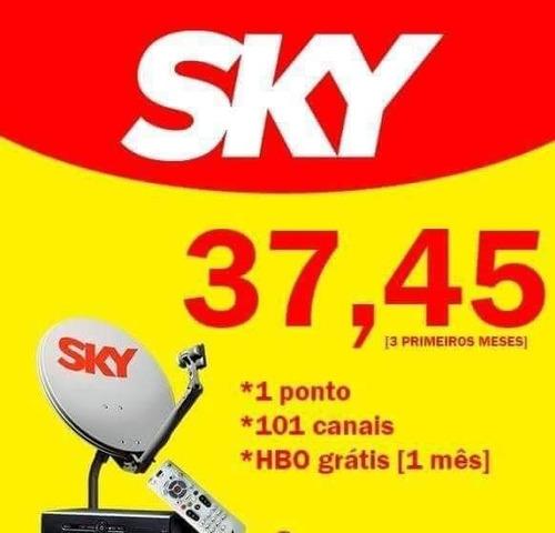 preciso de 5 pessoas para fechar o pacote promocional sky tv