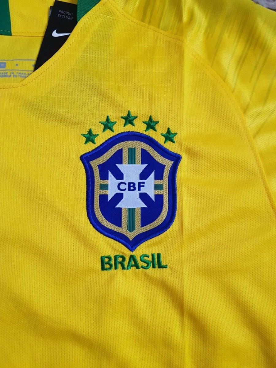 2f283f7fc313c preço baixo camisa seleção brasileira oficial 2018. Carregando zoom.