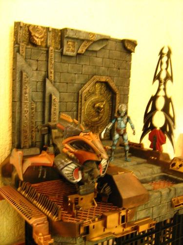 predator neca   diorama palacio viper  deluxe