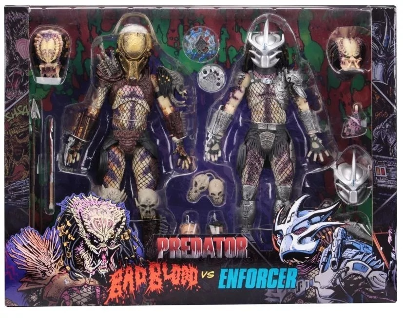 Predator - Ultimate Bad Blood Vs Enforcer 2 - Pack - Neca