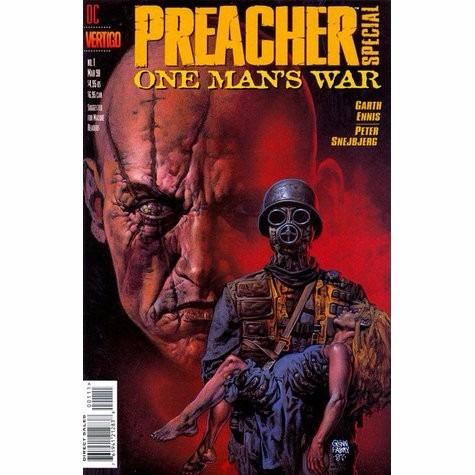 predicador the preacher  guerra privada  garth ennis
