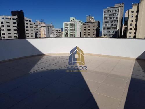 prédio alto padrão , novo para alugar, 600 m² por r$ 18.950/mês - centro - florianópolis/sc - pr0016