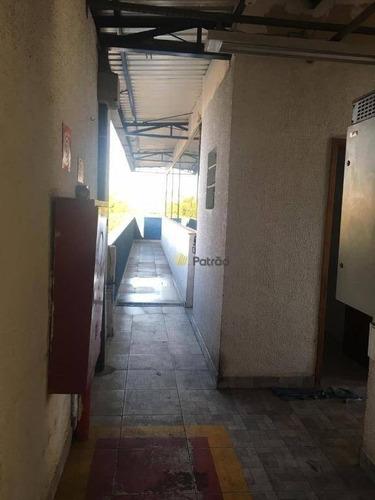 prédio comercial, 1000 m² a.c. - paulicéia - são bernardo do campo/sp - pr0082