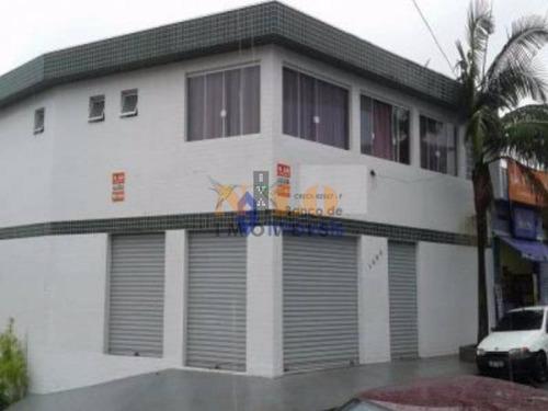 prédio comercial a venda ao lado da av. dona belmira marim, próximo banco santander, posto policial, circo escola, 300 m². - 749