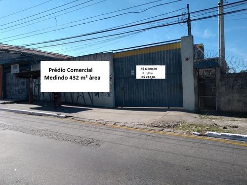 prédio comercial locação 432 m² fábio corretor ref3081