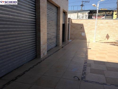 prédio comercial novo de esquina, ótimo acabamento com 06 lojas de tamanhos diferentes para locação - mr46641