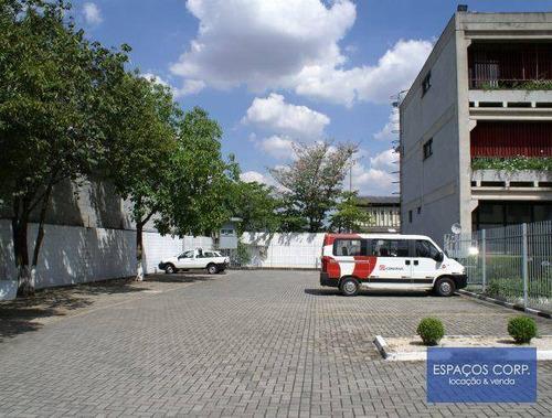 prédio comercial para locação, 2.571m²  - vila leopoldina - são paulo/sp - pr0107