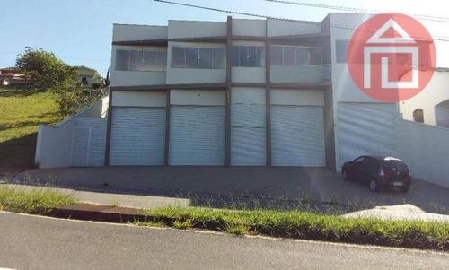 prédio  comercial para locação, jardim santa rita de cássia, bragança paulista. - pr0007