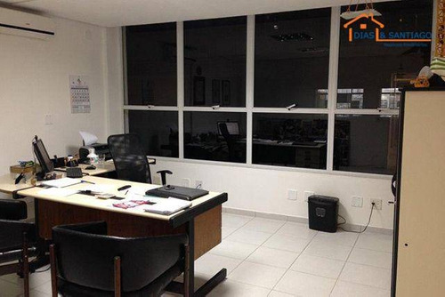 prédio comercial à venda para escritório e depósitos de empresa.acabamento fino,fachada de vidro laminado - pr0003