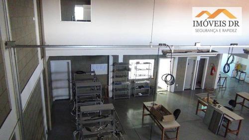 prédio comercial à venda, parque industrial, campinas. - pr0002