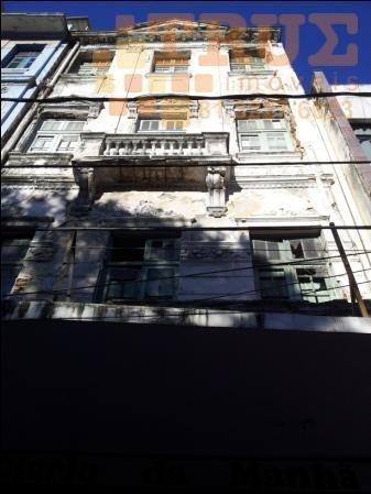 prédio comercial à venda, santo antônio, recife. - pr0008