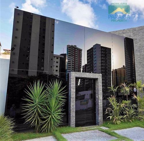 prédio e salas comerciais para venda ou locação -  manaíra - joão pessoa - pb - pr0041