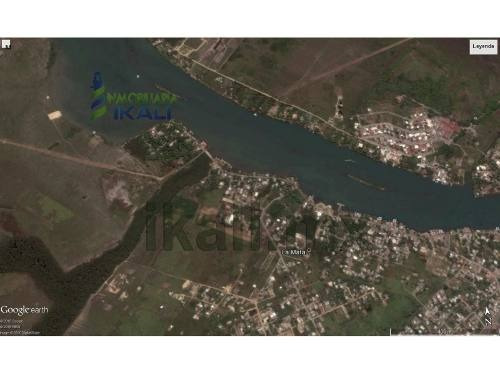 predio en venta tuxpan ver de 600 m² se encuentra ubicado en el camino que va de la mata de tampamachoco a la salida a tamiahua, son 30 metros de frente a la laguna y 20 metros de fondo. le correspon