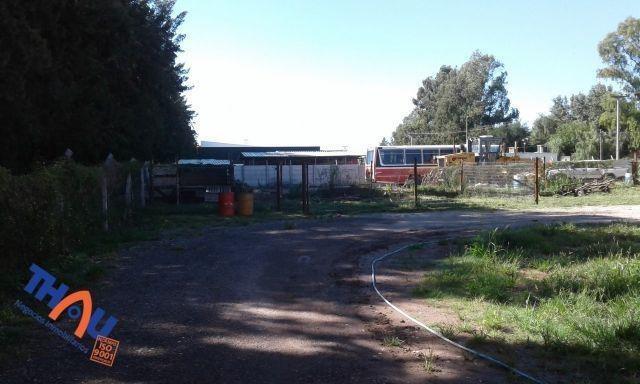 predio industrial con oficinas sobre ruta a012 km 63 de ricardone.