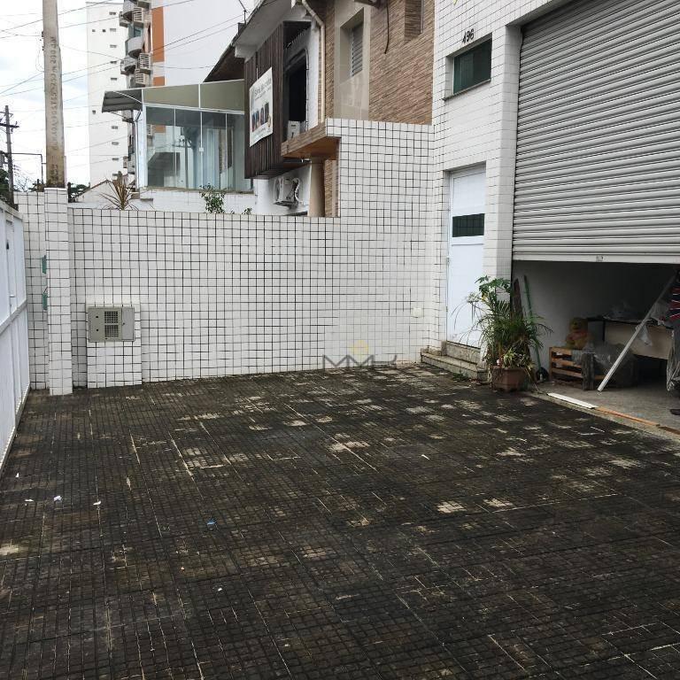 prédio novo para locação - boqueirão / santos - pr0003
