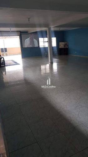 prédio para alugar, 400 m² por r$ 5.500/mês - jardim maragojipe - itaquaquecetuba/sp - pr0012