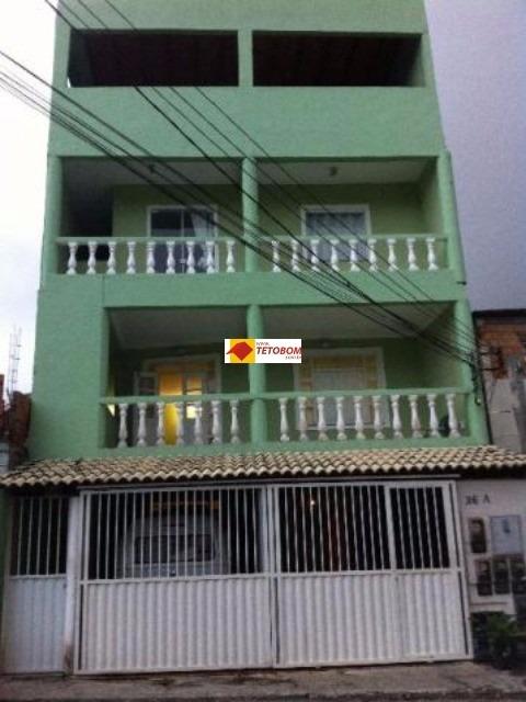 prédio para venda centro, lauro de freitas 5 dormitórios, 2 vagas 275,00 útil, 275,00 total preço: r$950.00 - tjl107 - 3281403