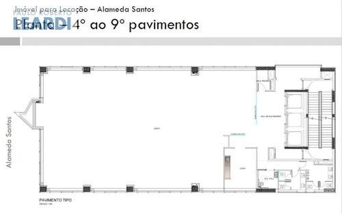 prédio paraíso  - são paulo - ref: 487909