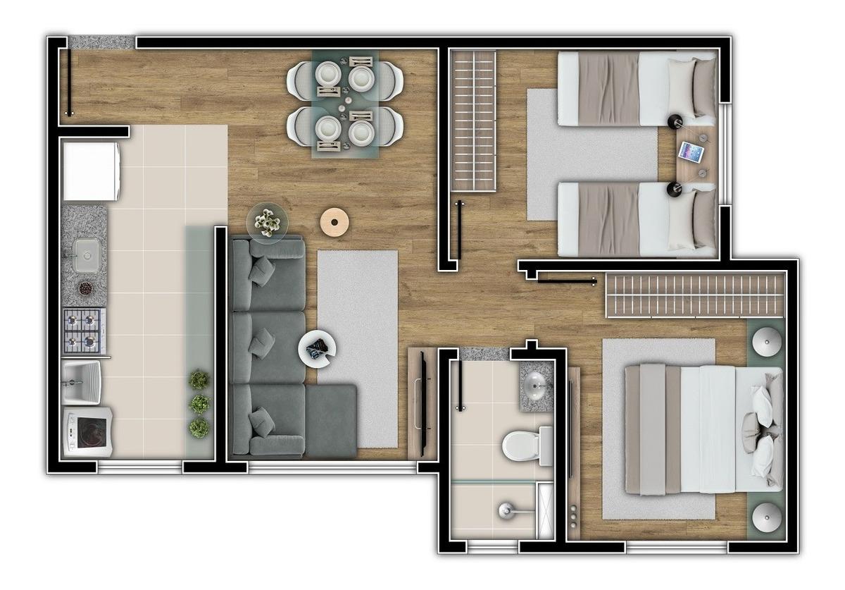 prédio único com 2 quartos, muito bem localizado. - 1319