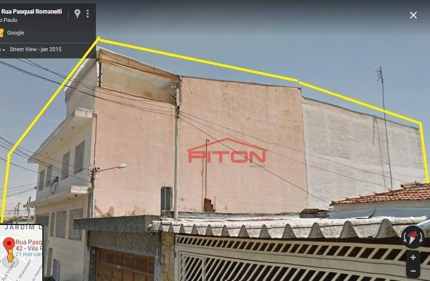 prédio à venda, 1000 m² por r$ 1.300.000 - vila ré - são paulo/sp - pr0018