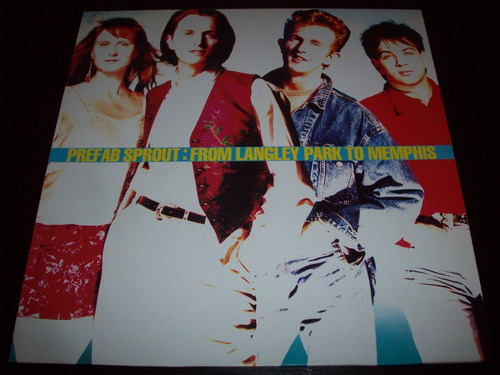 prefab sprout from langley park to memphis vinyl lp spain