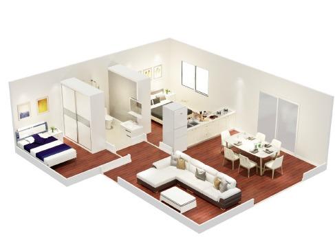 Casas prefabricadas isopanel eps 1 y 2 hab 50m2 a mia - Albaniles en montevideo ...