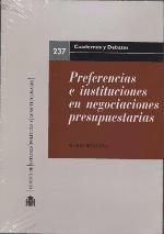 preferencias e instituciones en negociaciones presupuestaria