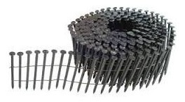 prego espiral pregador pneumatico 2,5 x 55 mm cx c/ 9.000