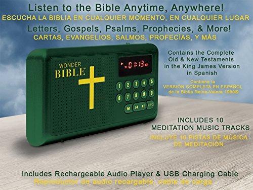 pregunto biblia espanol  la talking king james reproductor d