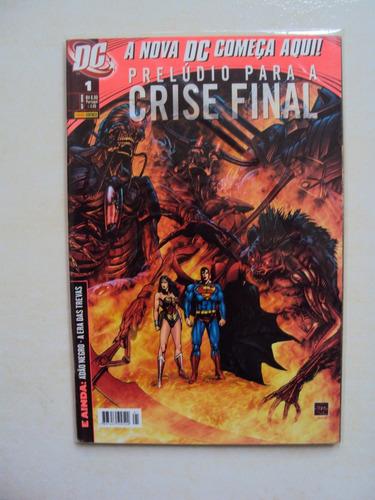 prelúdio para a crise final # 01 - dc comics - panini