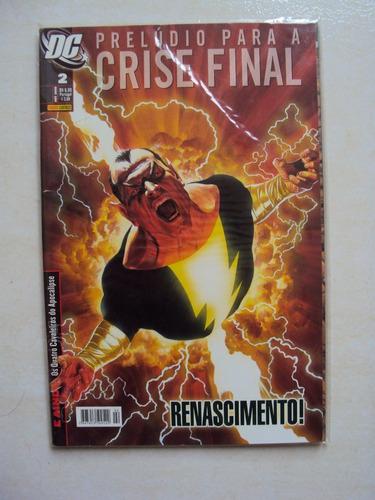 prelúdio para a crise final # 02 - dc comics - panini
